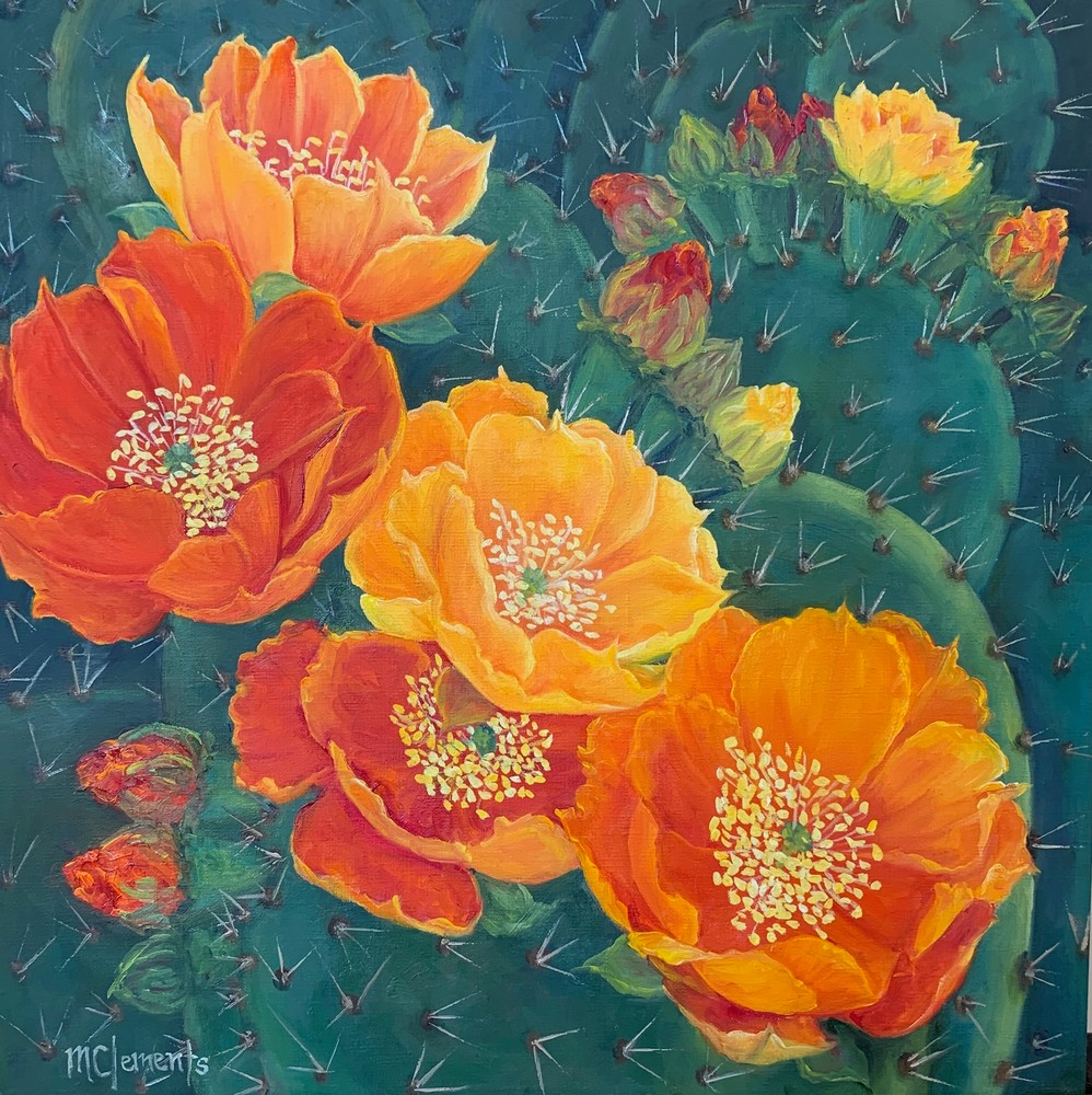 Cactus Beauties Art | Marsha Clements Art