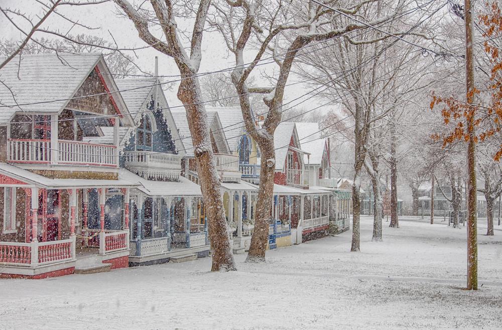 Gingerbread Swirling Snow Art | Michael Blanchard Inspirational Photography - Crossroads Gallery