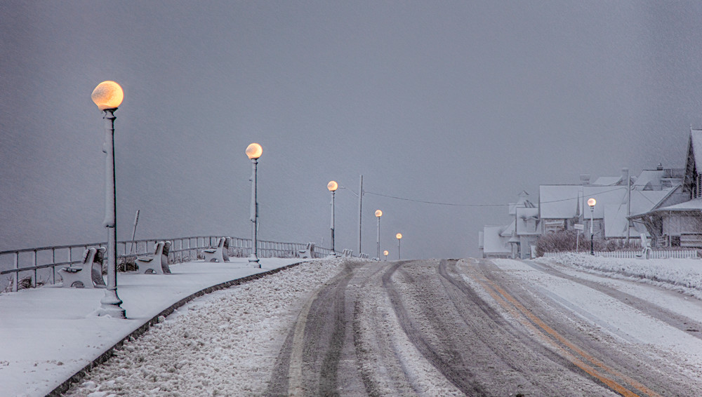 Seaview Ave Snowglobes Art   Michael Blanchard Inspirational Photography - Crossroads Gallery
