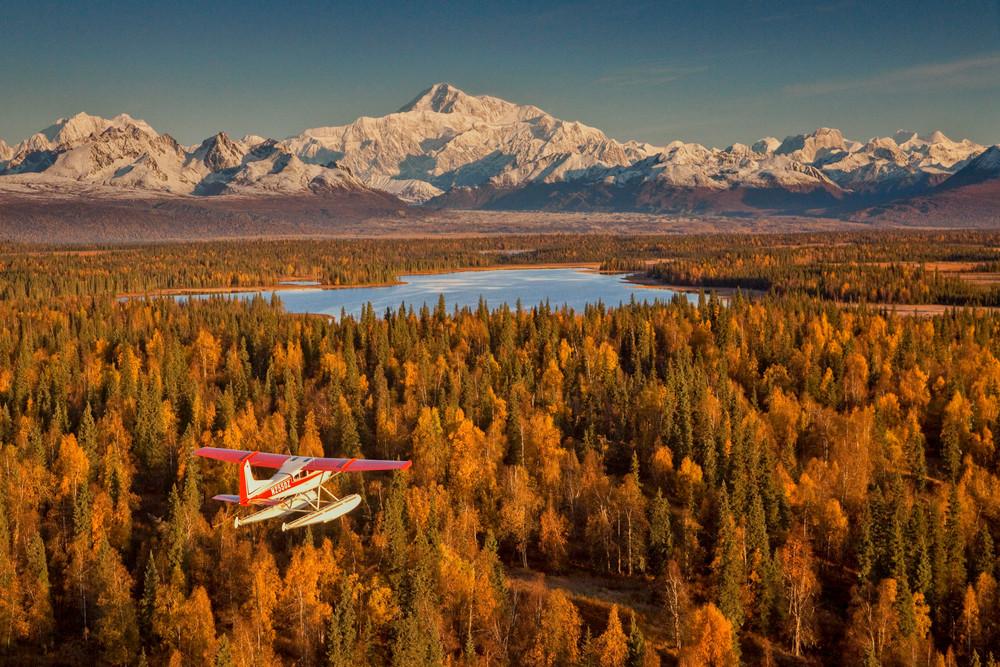 Autumn Denali Flight 1