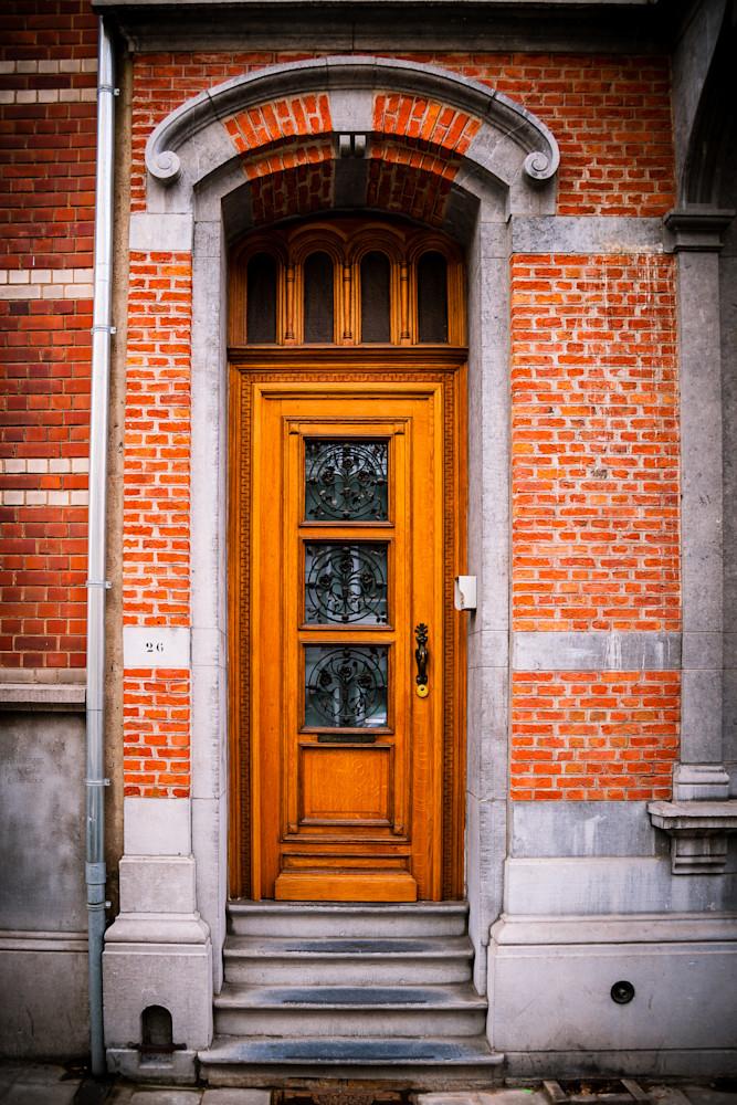 Doors of Ixelles No. 7, Brussels, Belgium 2018