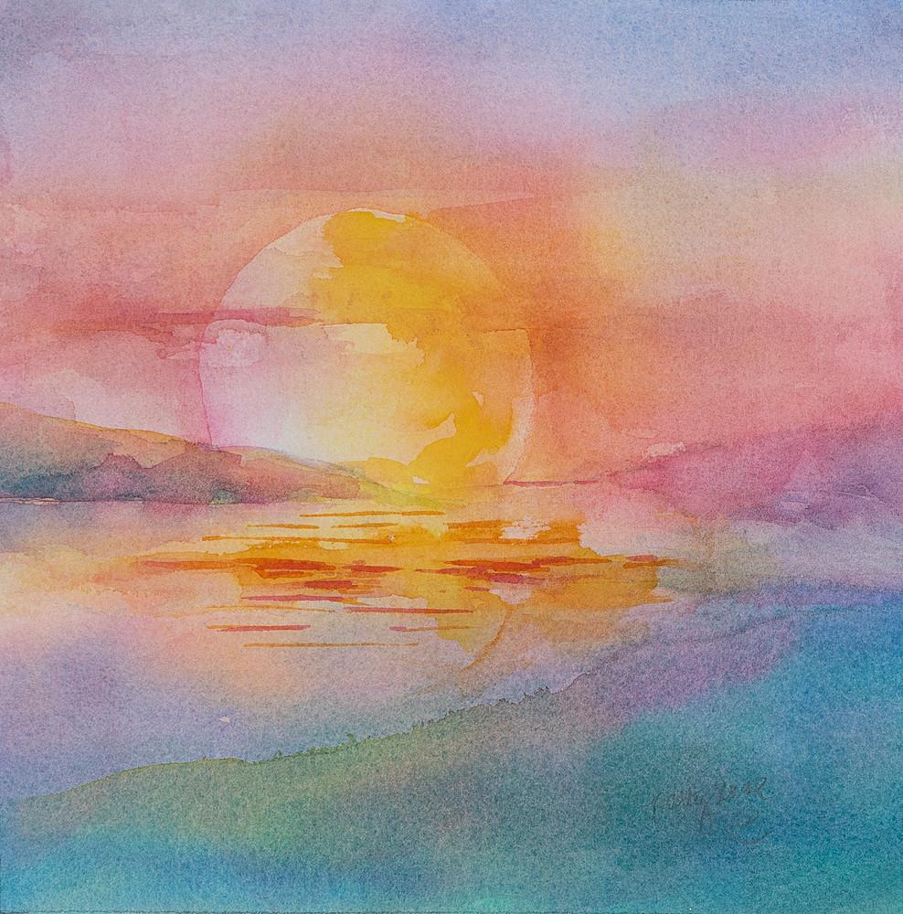 Florida Sunrise I Art   ArtByPattyKane