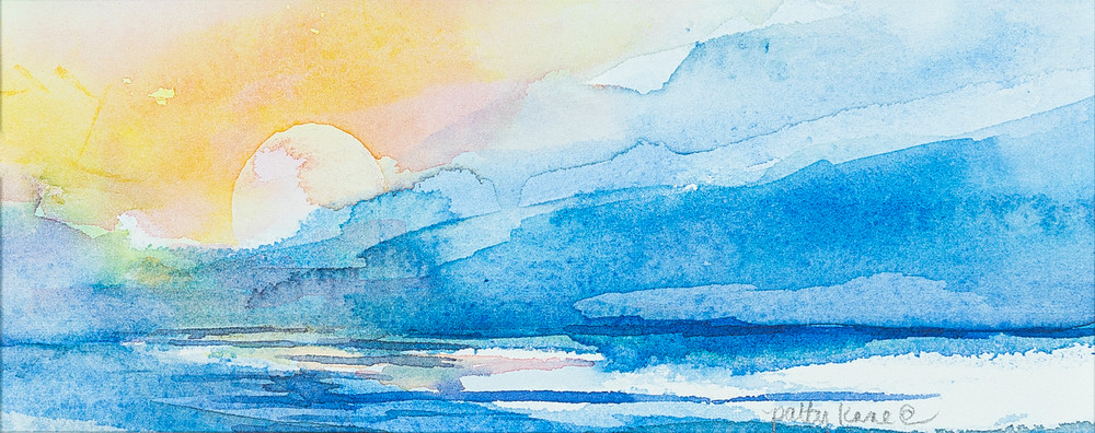 Irish Sunrise I Art | ArtByPattyKane