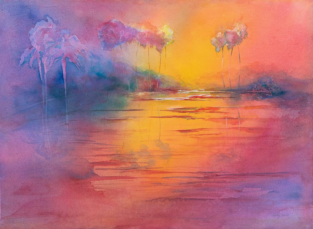 Peace At Sunset Art | ArtByPattyKane