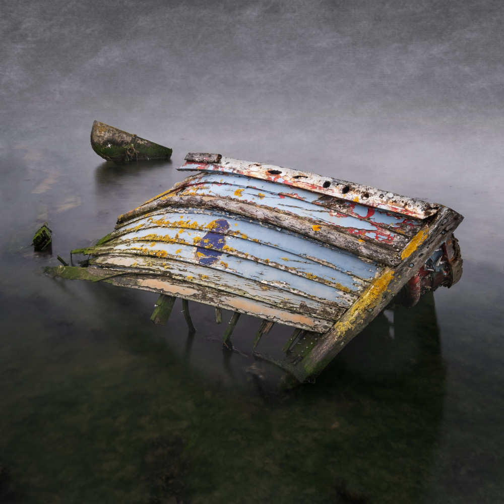 Broken Hull Art | Roy Fraser Photographer