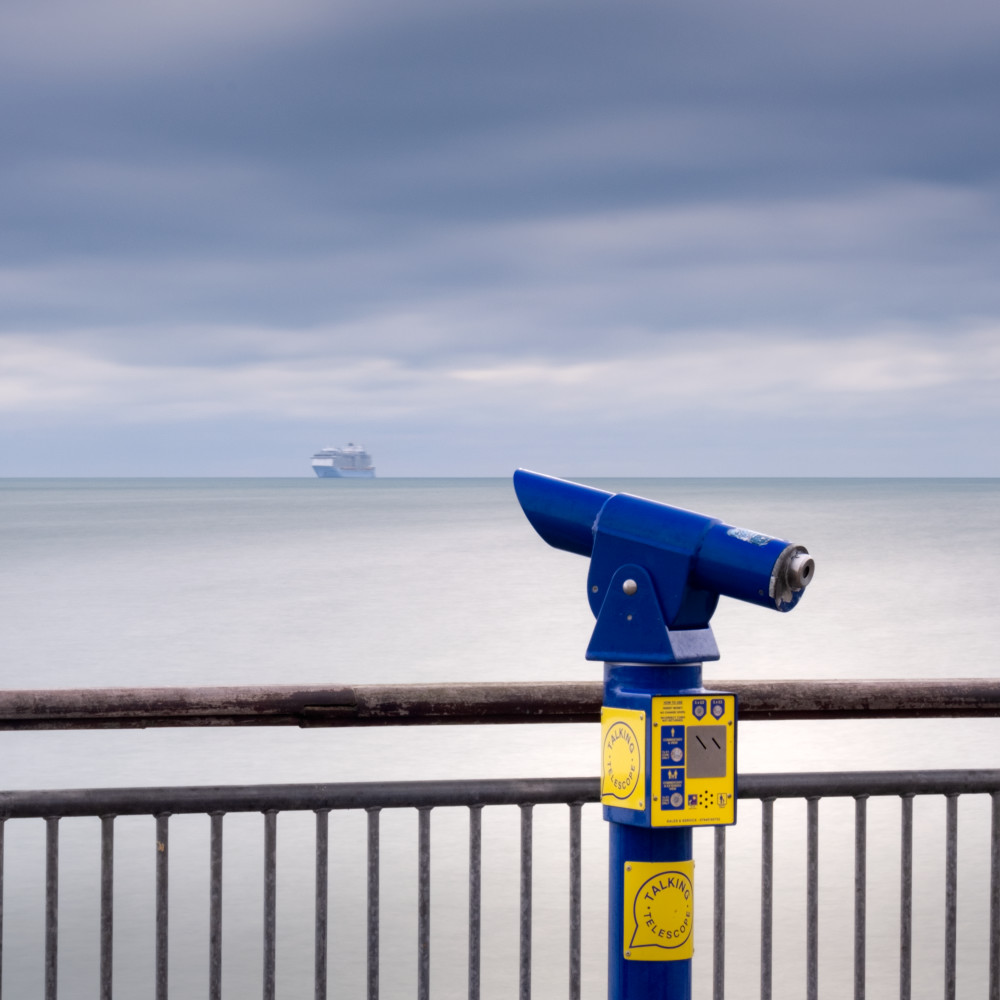 Boscombe Pier Telescope Art | Roy Fraser Photographer