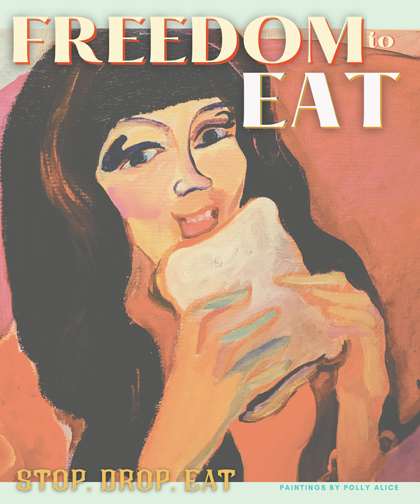 Freedom To Eat Art | Polly Alice Design