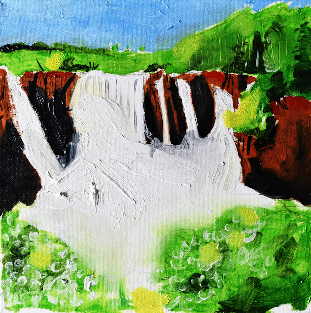 High Falls On The Pigeon River, Mn. Art | eddie hamilton art