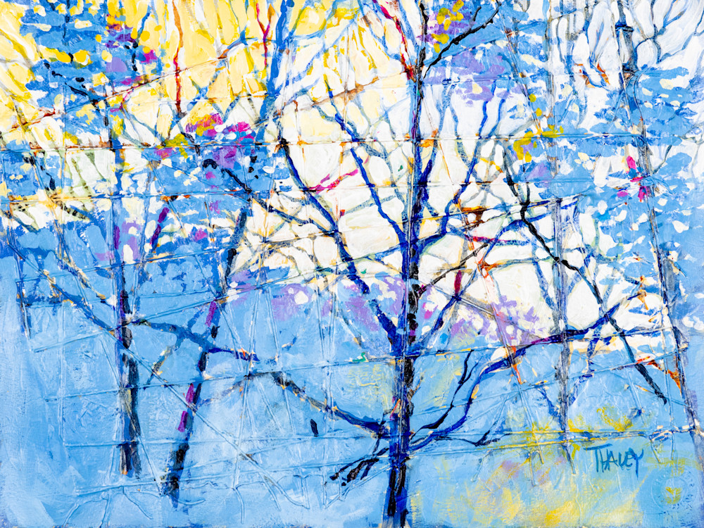 Winter Morning Art | Terrie Haley Artist