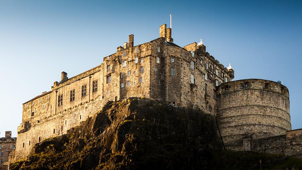 Edinburgh Castle Sunset