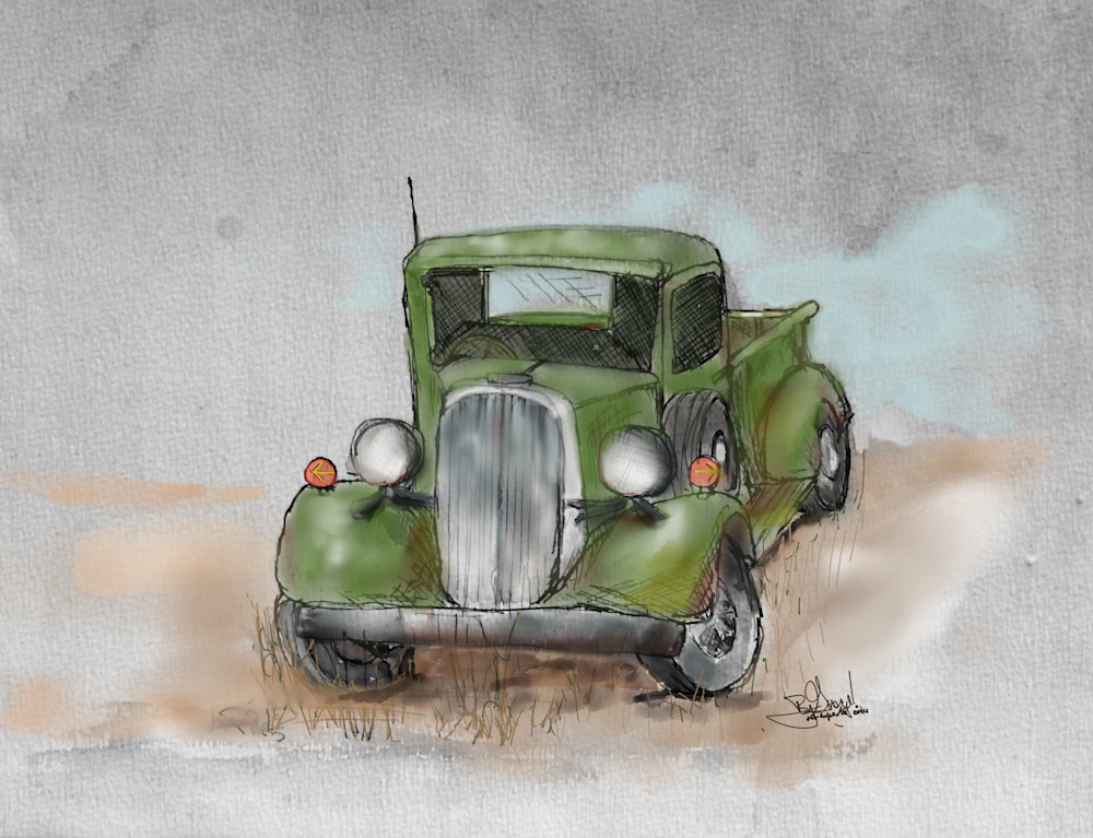 Out To Pasture V Gr B Art   ART By George!