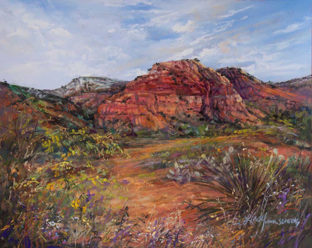 Lindy Cook Severns Art   Canyons Are Calling, print
