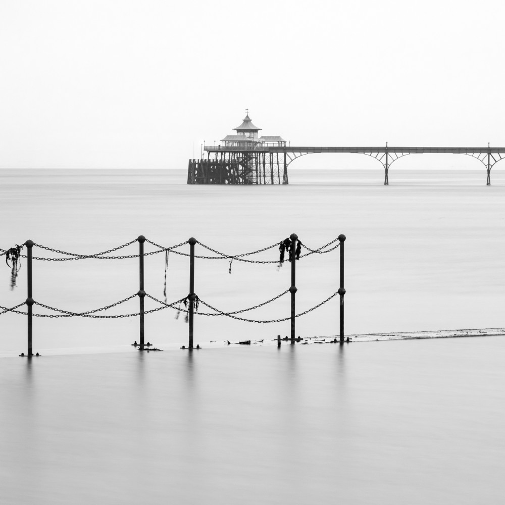 Clevedon Outdoor Pool And Pier Art | Roy Fraser Photographer