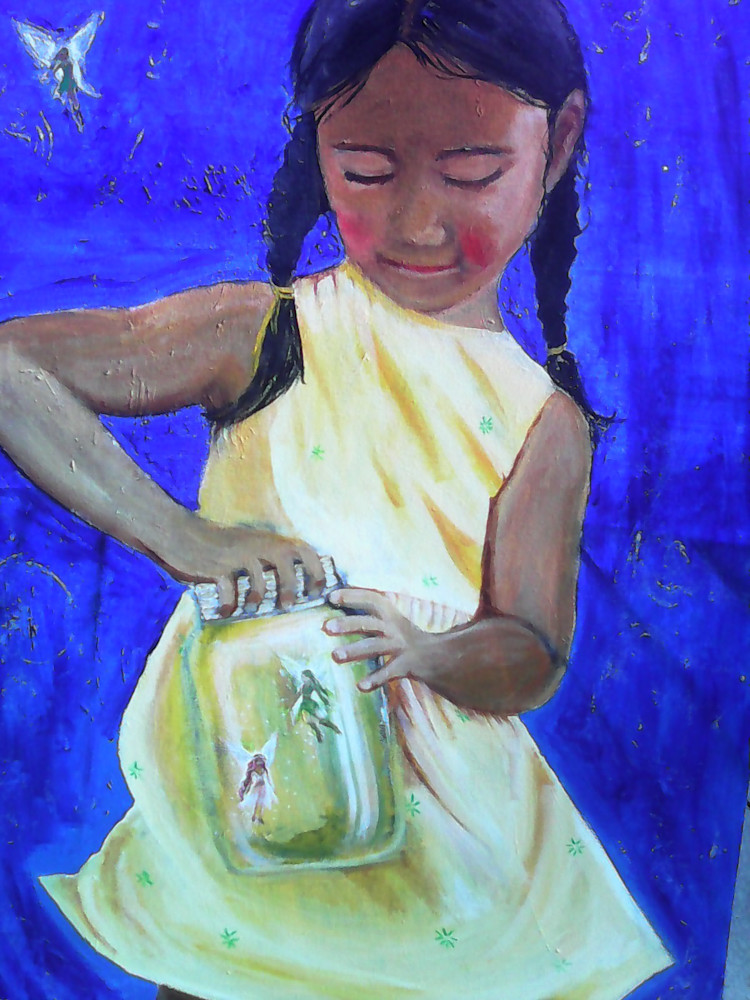 Catching Fireflies Art | Art Impact® International Inc
