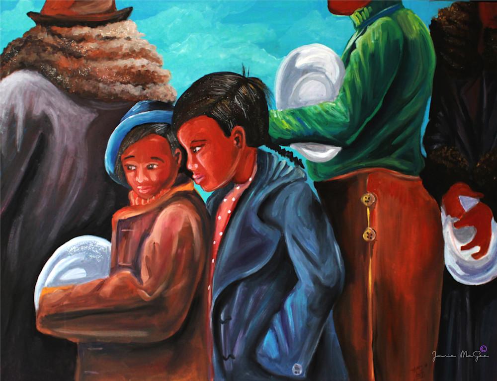 Children In Foodline Art | Art Impact® International Inc