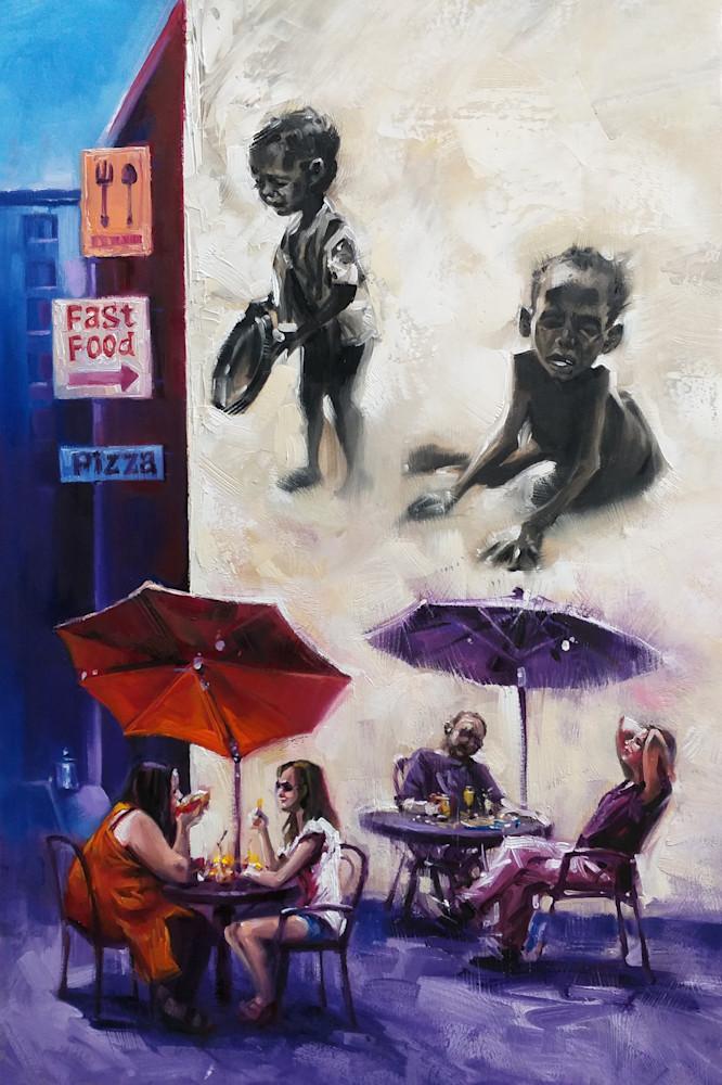Food Discrimination Art | Art Impact® International Inc