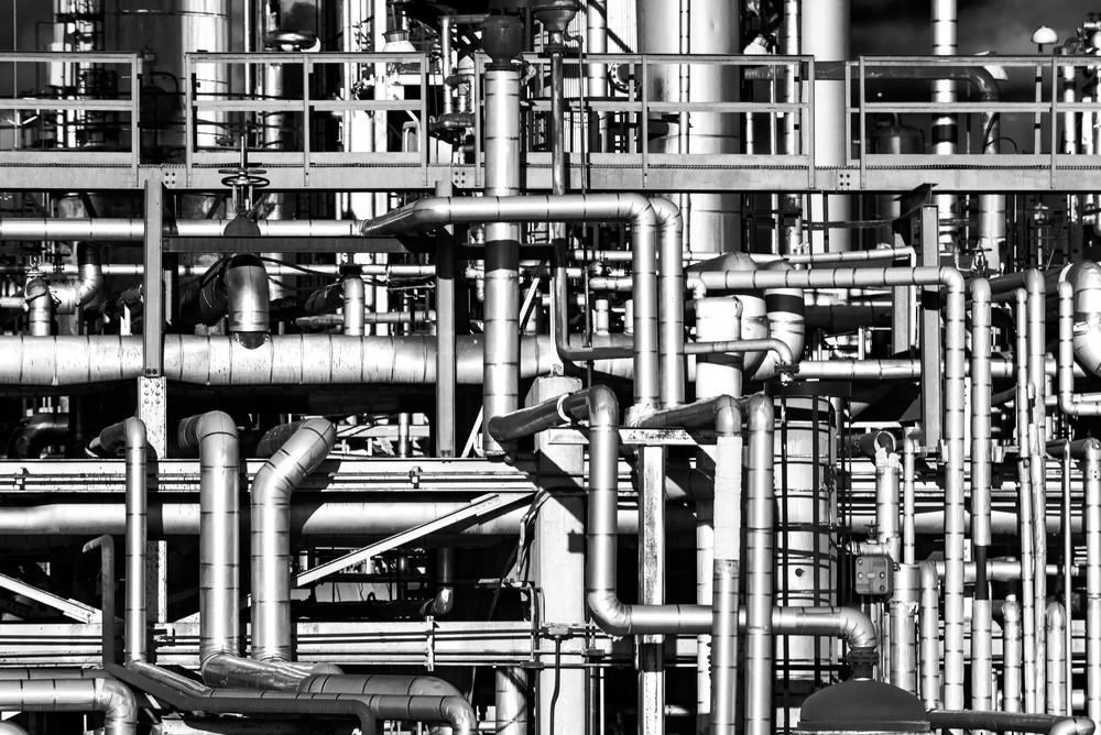 Industrial Ladscape #2 Photography Art | Elizabeth Stanton Photography