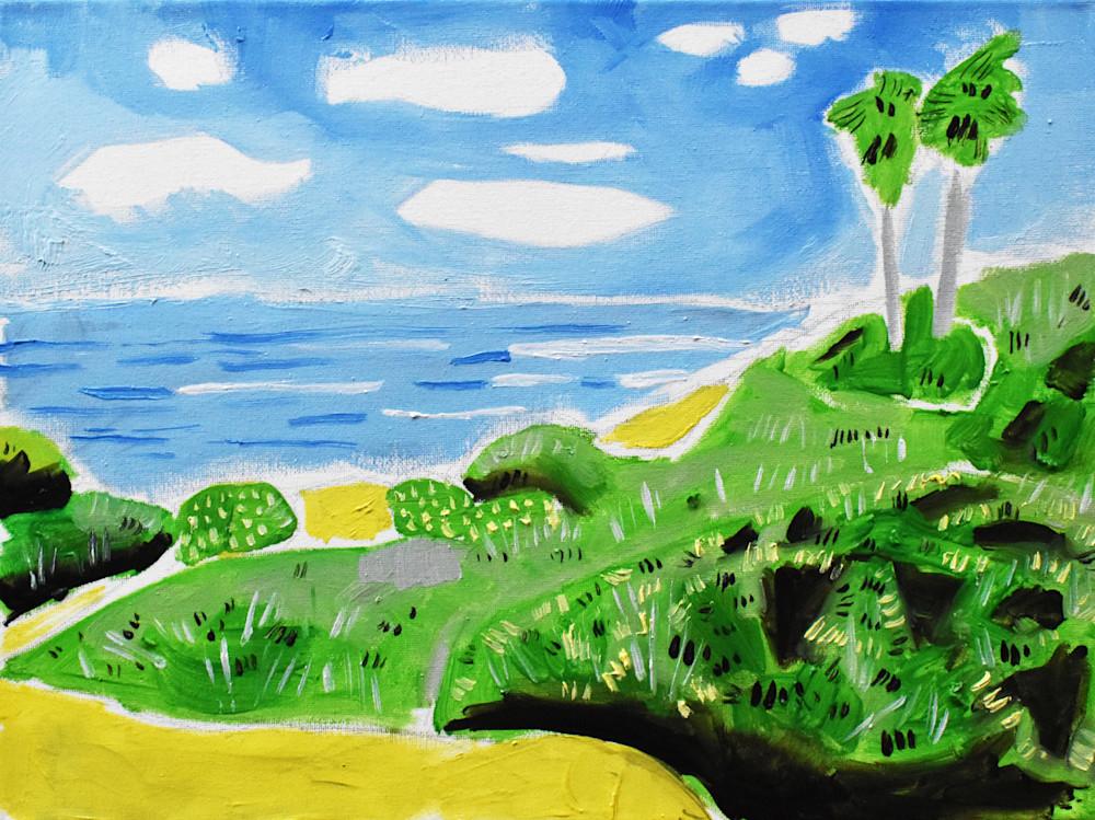Sunset Cliffs 2a Art | eddie hamilton art