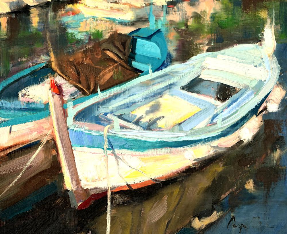 French Fishing Boat Art | robincaspari