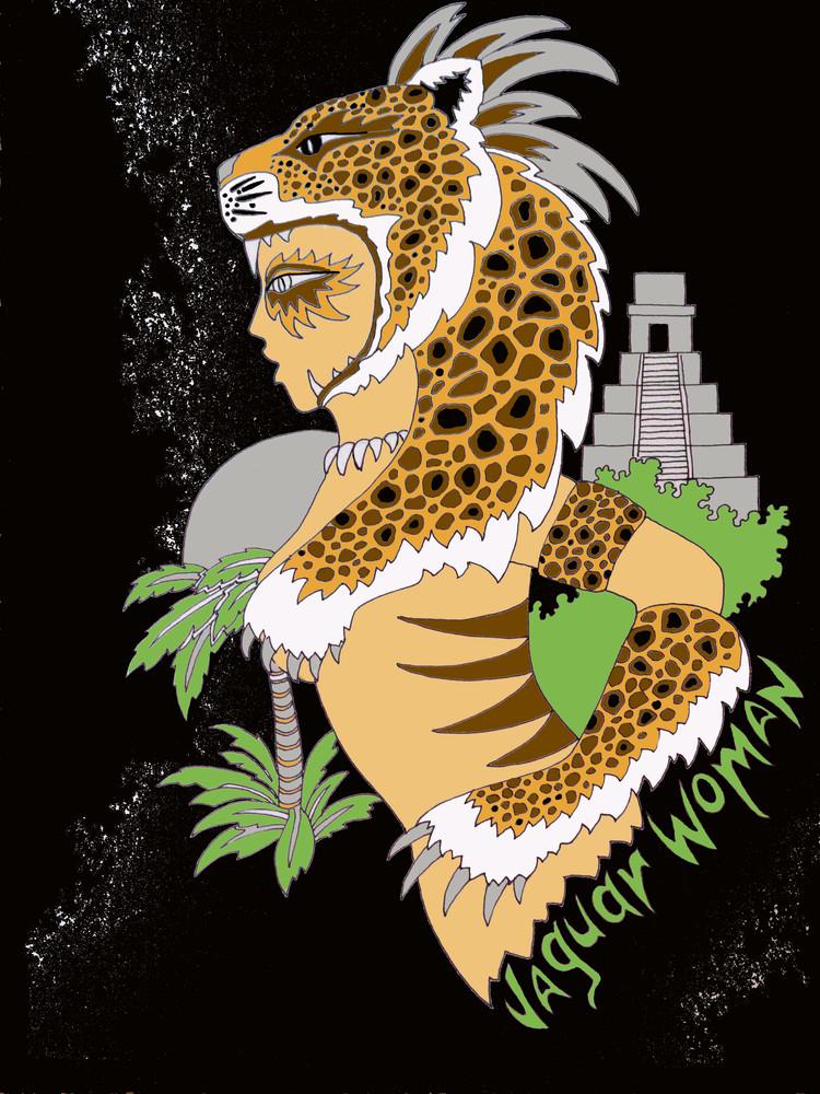 Jaguar Woman  Art | treshamgregg - spiritart