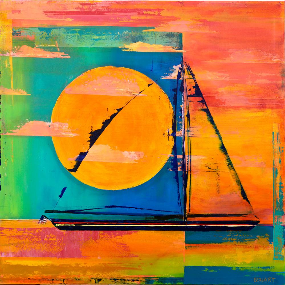 Sail  Art   benbonart