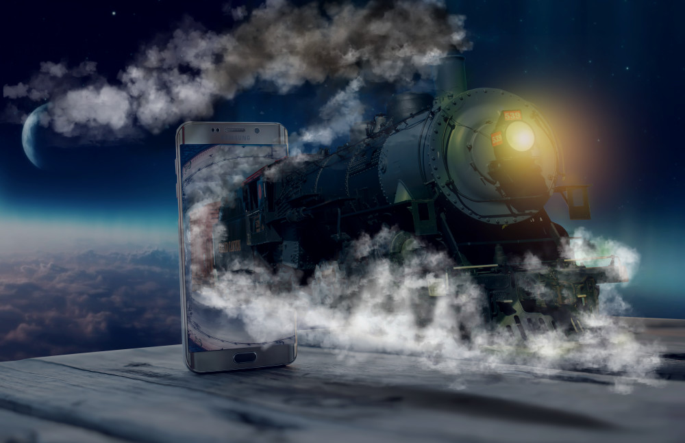 Space Train - Christian Redermayer Photography