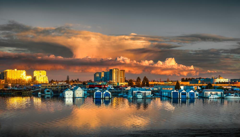 Richmond Waterfront Art | James Alfred Friesen