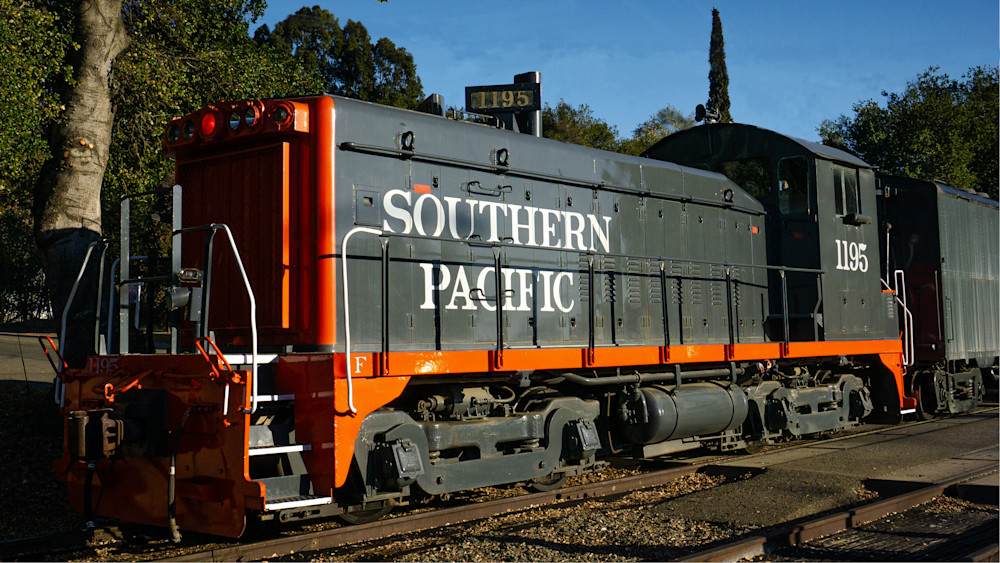 Southern Pacific 1195 Photography Art | Ron Olcott Photography
