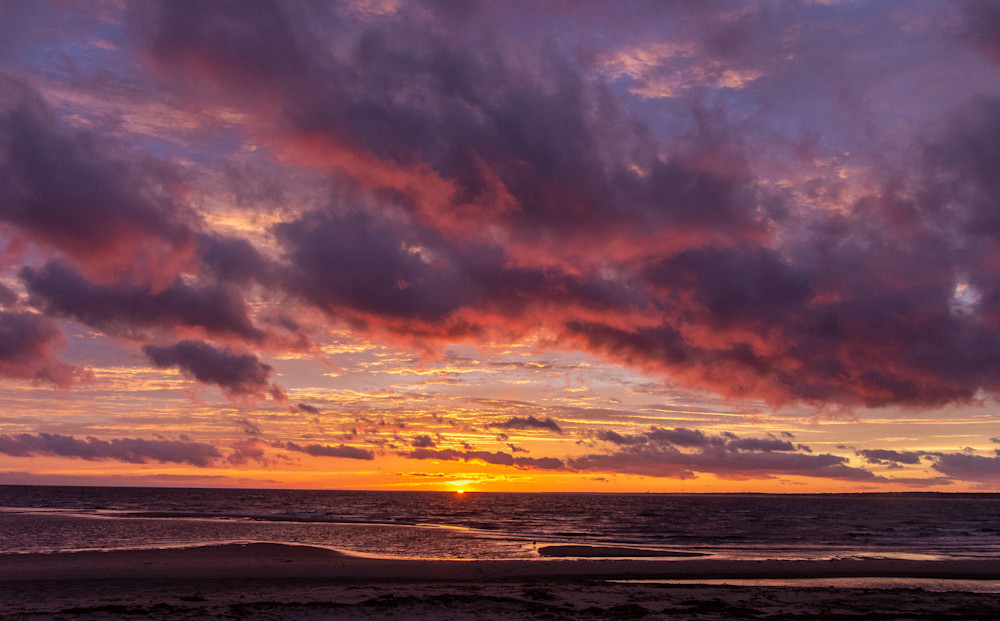 Surprise Sunset Photography Art   The Colors of Chatham