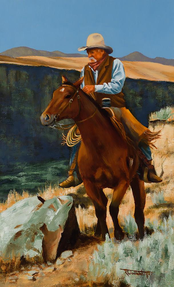 "Raymond Wattenhofer Digital Art Print ""On the Canyon Rim"""