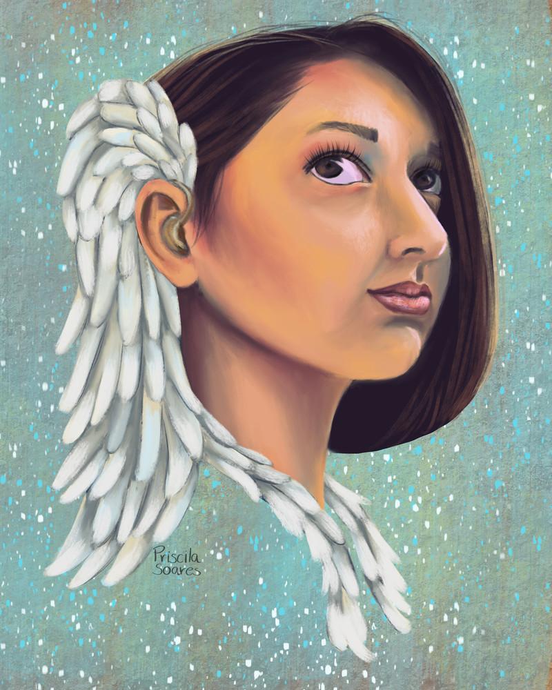 Proud To Be Deaf Art   Priscila Soares - MyLuckyEars
