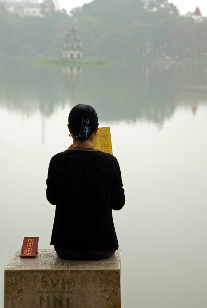 Hanoi Prayers Photography Art | Felice Willat Photography