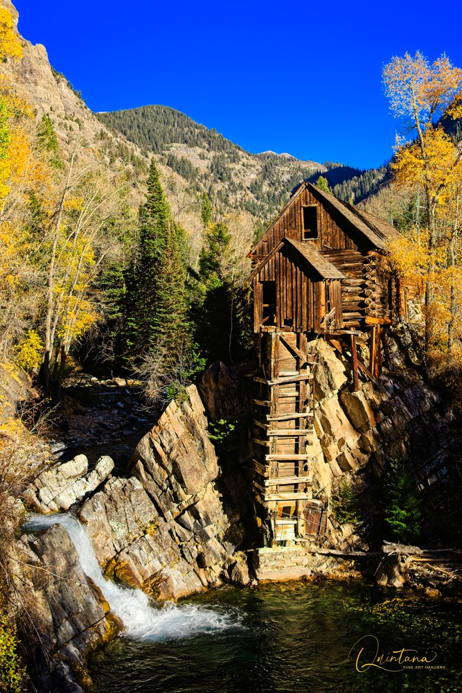 Crystal Mill - A Fine Art Photograph by Marcos R. Quintana