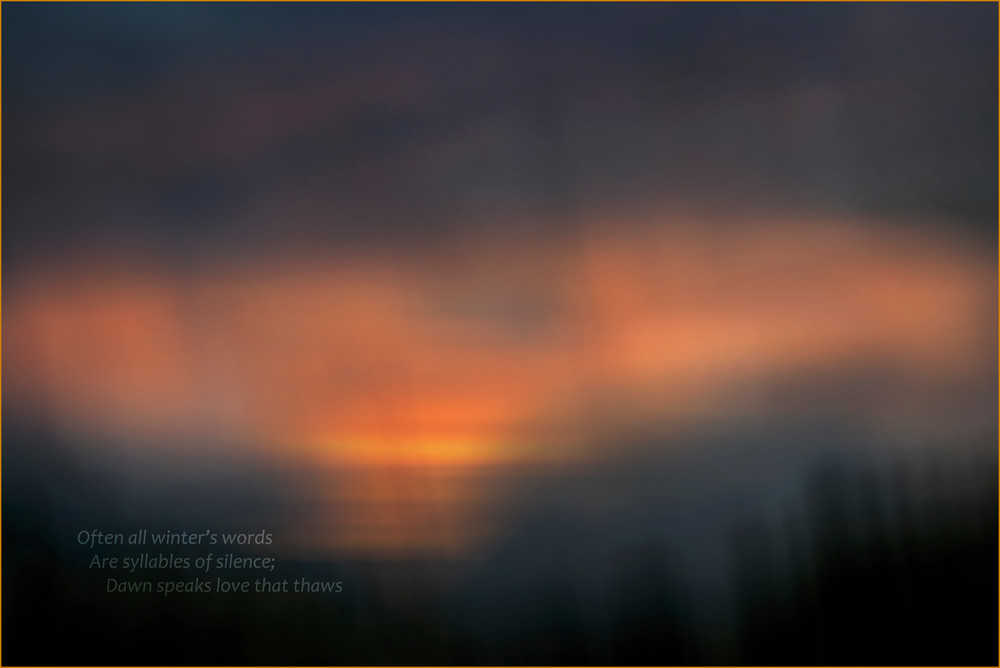 Morning Dreams Photography Art | Ed Sancious - Stillness In Change