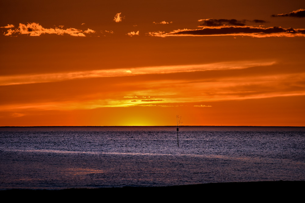 Rock Harbor At Sundown Photography Art | The Colors of Chatham