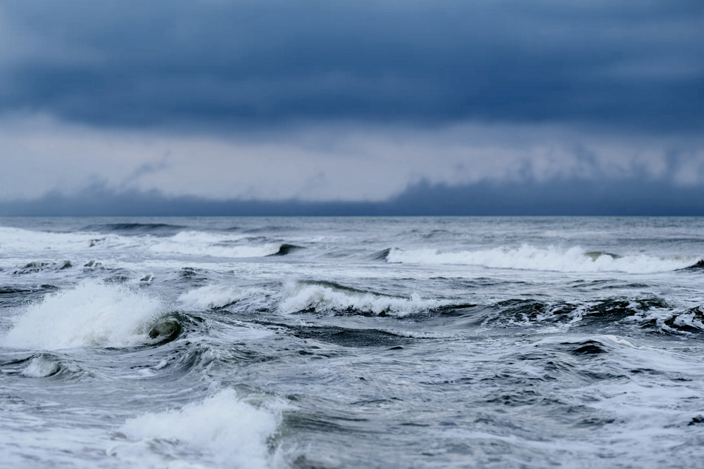 Stormy Seas Photography Art | Silver Sun Photography