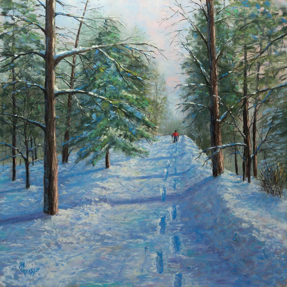 A Walk Through Winter Art | Mark Grasso Fine Art