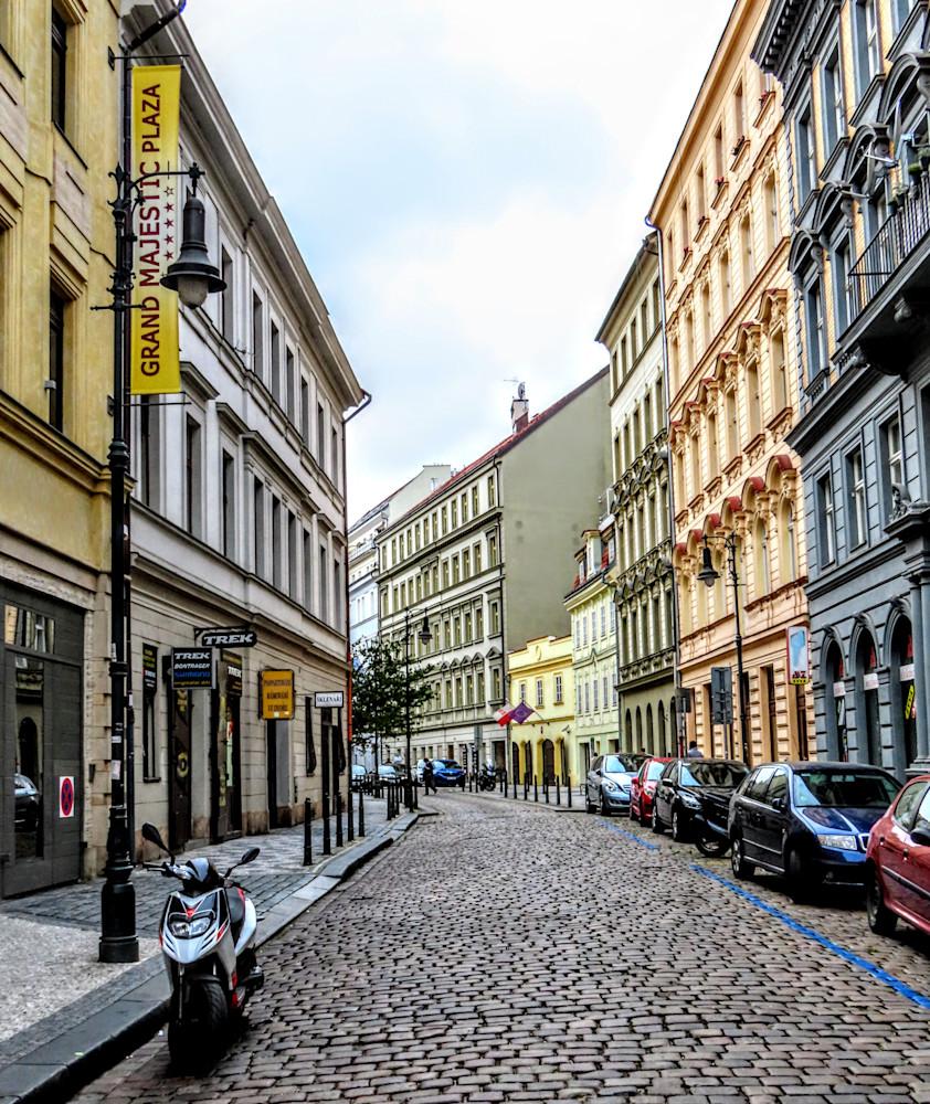 Cobblestone Street In Prague Photography Art | Photoissimo - Fine Art Photography
