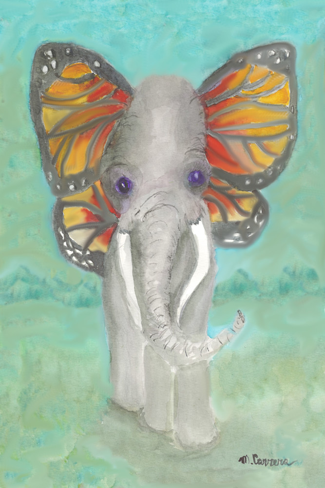 Endangered Species Watercolor Print