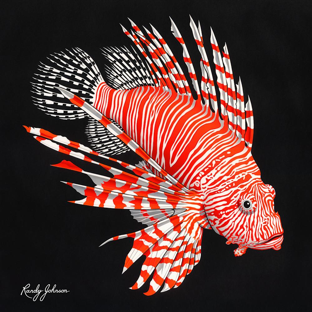 Lionfish Art | Randy Johnson Art and Photography