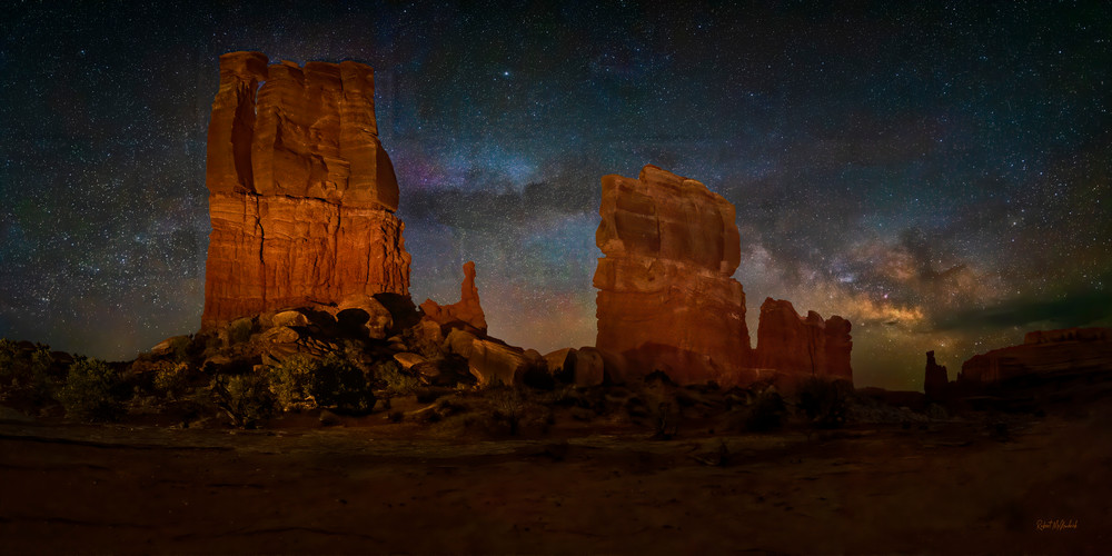 Determination Tower Pano Photography Art | McKendrick Photography