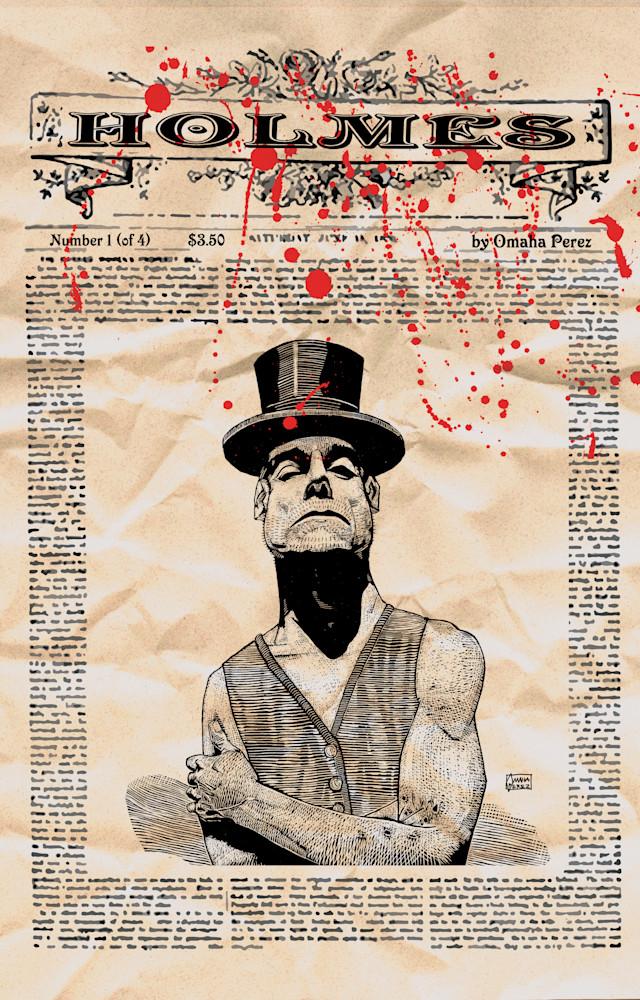 Holmes V1 N01 Cover Printfilergb Art | Omaha Perez Art