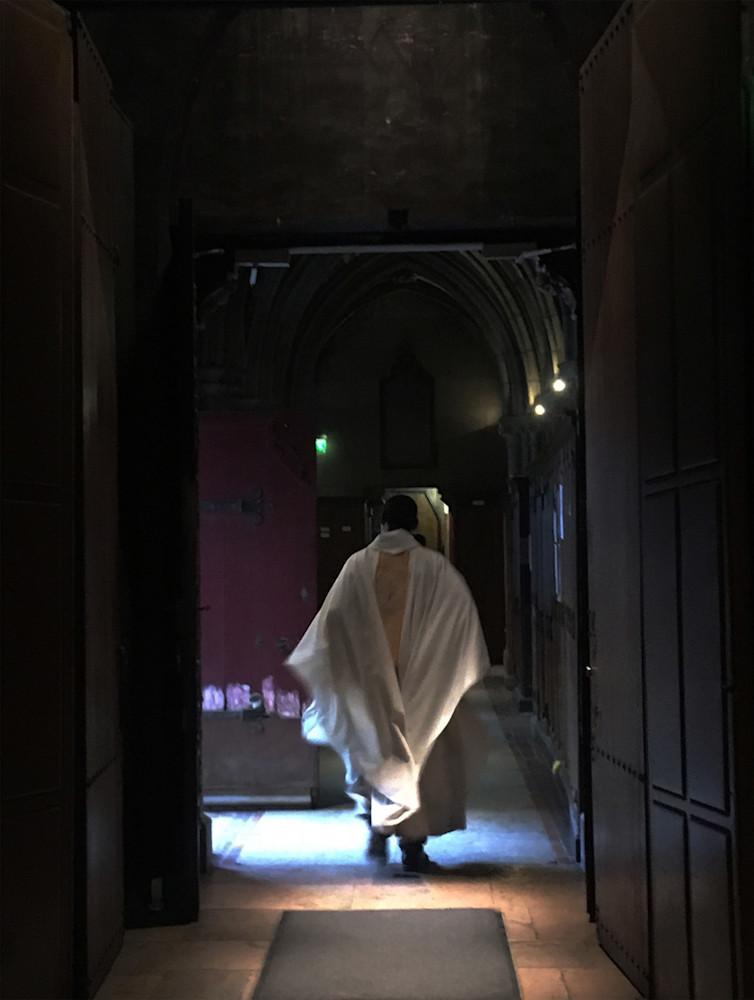 Priest In Paris Art   Michael Bruley Studio