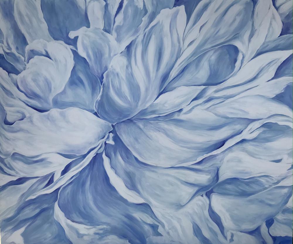 Blue Peony I Art | ebaumeistermcintyre