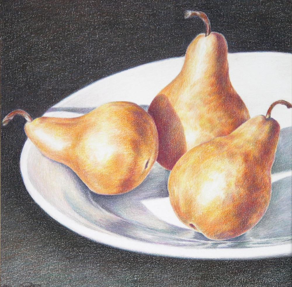 Three Pears  Art | ebaumeistermcintyre