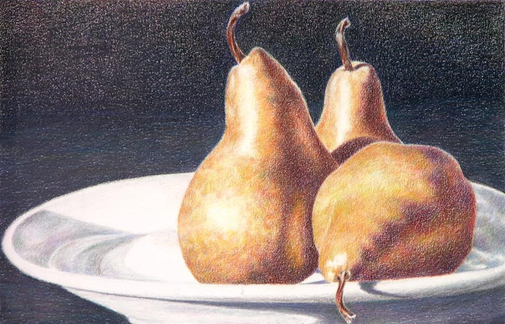 Tom's Pears Art   ebaumeistermcintyre