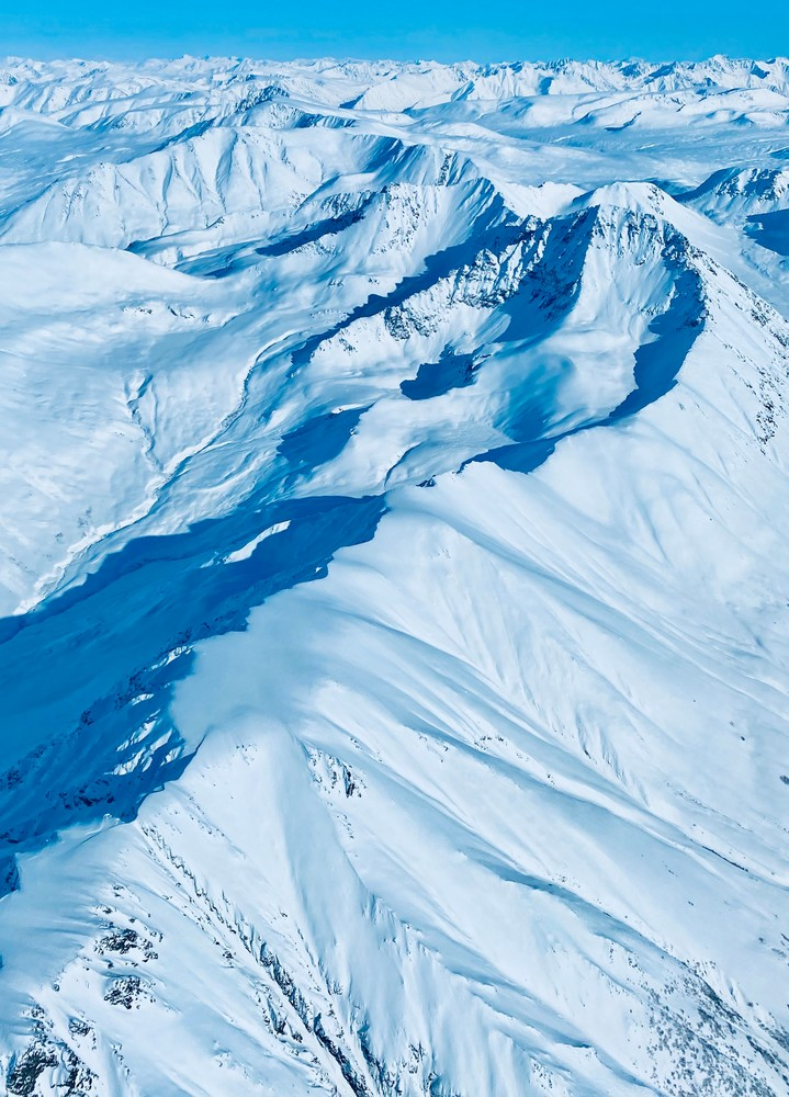 Talkeetna Mountains In March Photography Art | Visionary Adventures, LLC