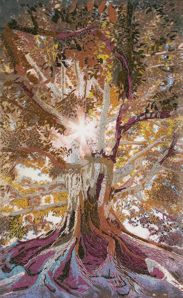 Tree Of Life Web Art | David Poyant Paintings