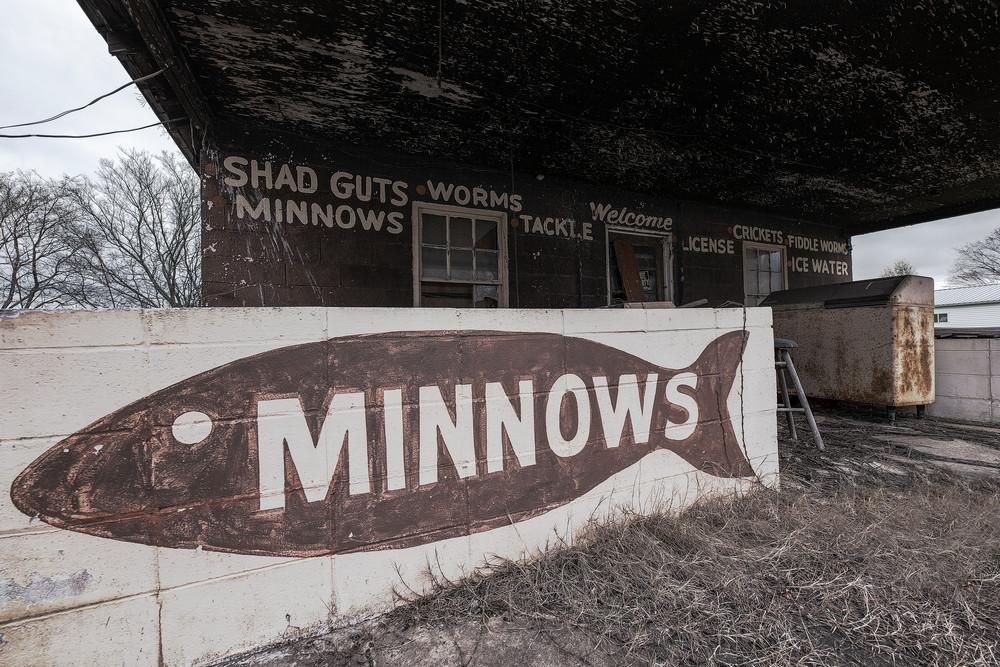 Vintage Bait Shop - Alabama fishing fine-art photography prints