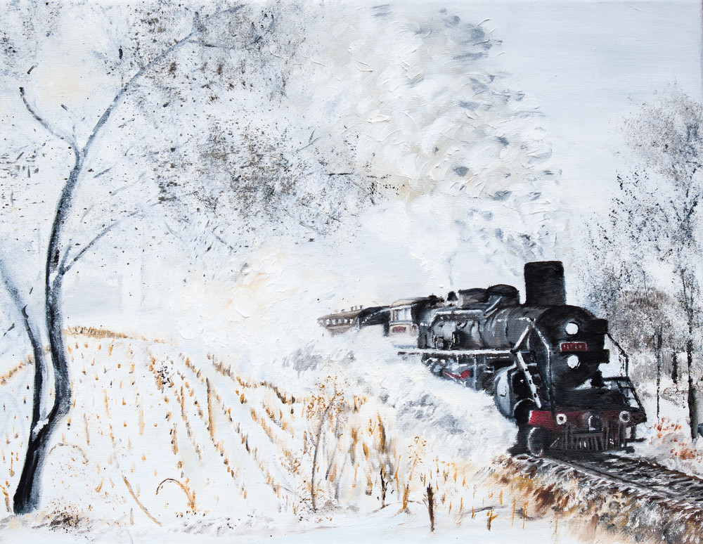 Steam And Snow Art | Drivdahl Creations